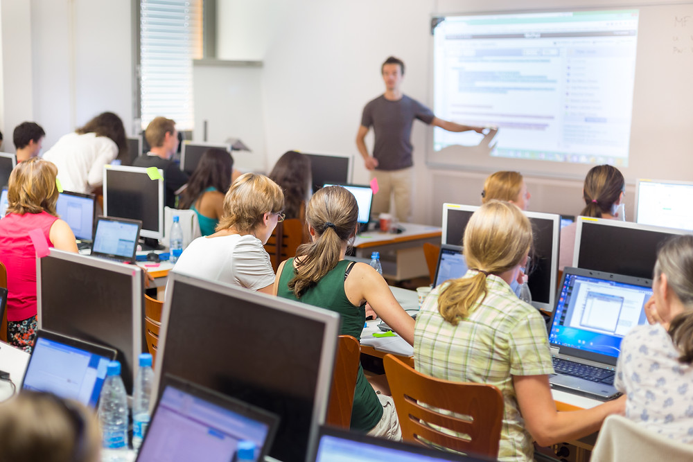 Classrooms run more efficiently with KLIK
