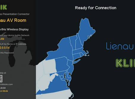 KLIK Appoints Lienau AV to Mid-Atlantic, Metro New York, Up State New York and new England regions.