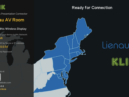 KLIK Appoints Lienau AV to Mid-Atlantic, Metro New York, Up State New York and new England regions.