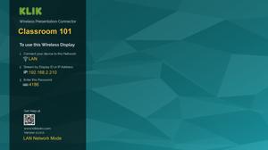 All-new Desktop for KLIK Boks CLASSIC
