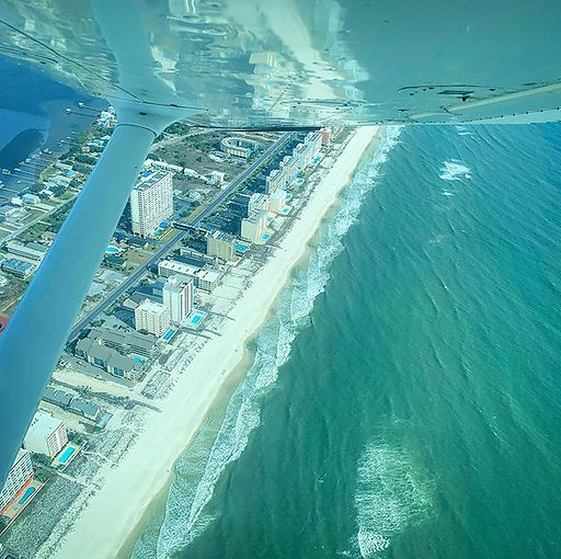 A fantastic way to see the beautiful south Alabama beaches!  www.aeroproinflight.jpe