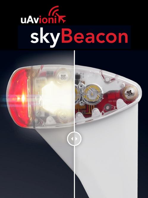 uAvionix skyBeacon
