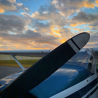 Beautiful evening for flying!  Come join