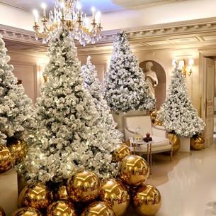 Le Four Seasons George V Paris ouvre son Christmas Pop-Up 2020