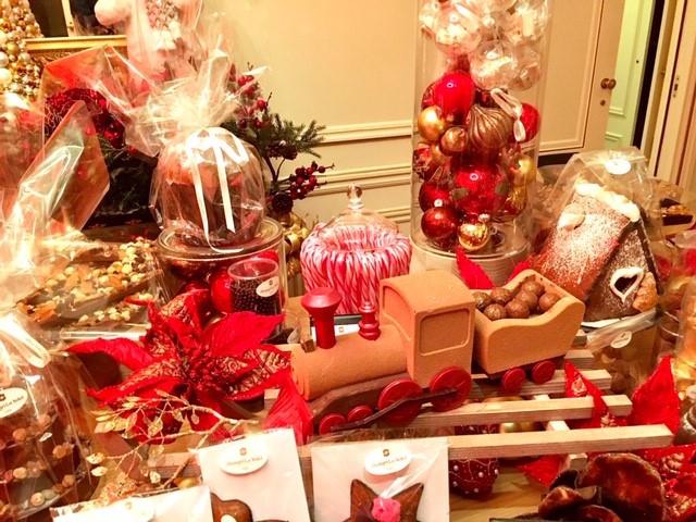 boutique de Noël du Shangri-La