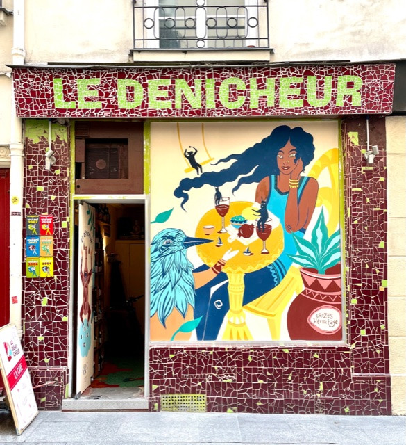 restaurant streetart paris