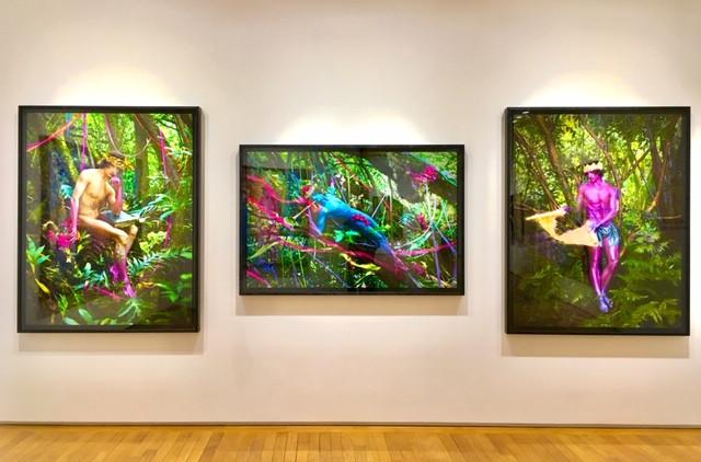 David LaChapelle Galerie Templon (c) YAKOA
