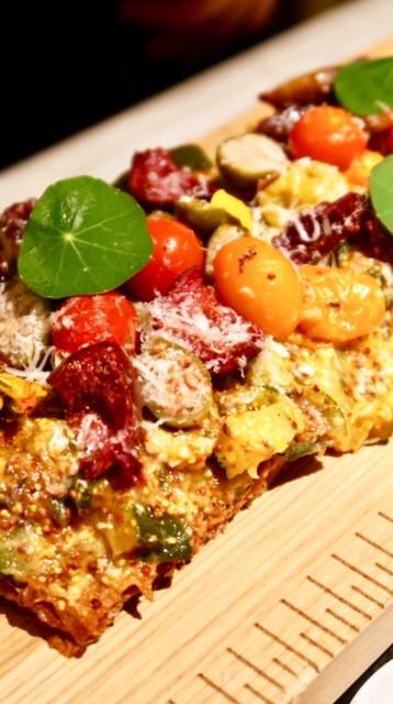 Polichinelle par Christophe Michalak tarte légumes
