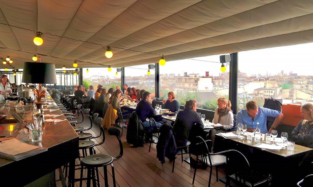 Au top restaurant paris