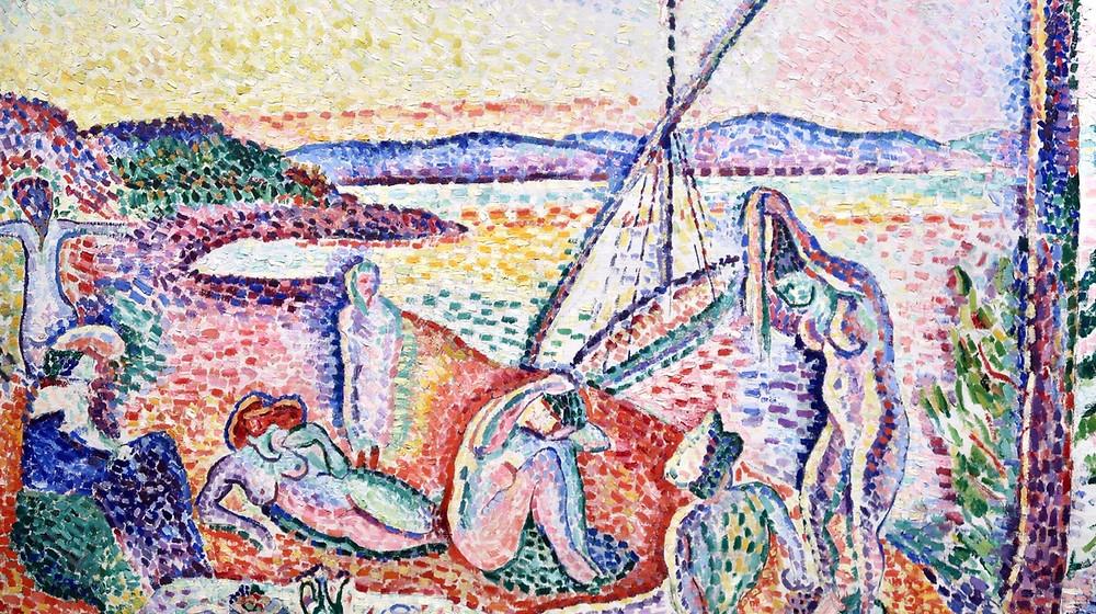 Exposition Matisse comme un roman pompidou