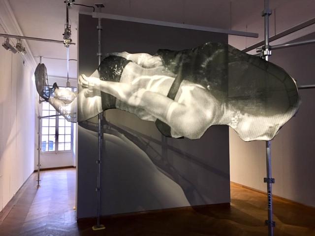 Exposition JR Maison européenne de la photographie (c) YAKOA