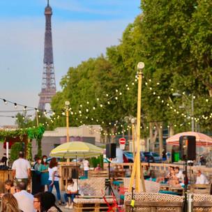 Chez Marie : la nouvelle guinguette du 15ème sur les quais de Seine