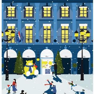 Ritz Paris : le petit comptoir de Noël sur la place Vendôme