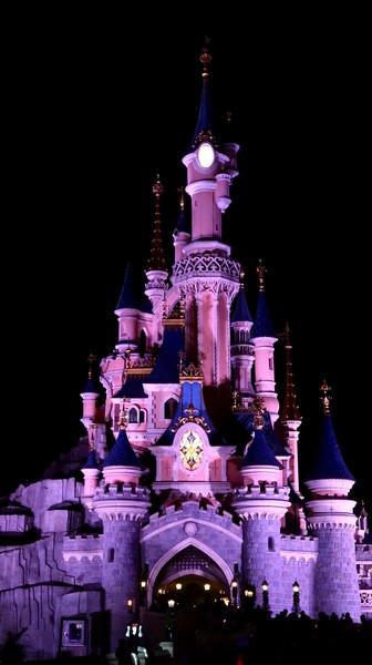 Disneyland Paris le Chateau de la belle au bois dormant