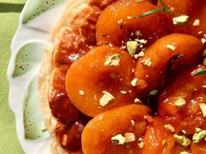 La recette de la tarte fine aux abricots et pistaches