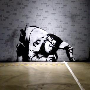 Exposition : The World of Banksy au Centre Lafayette Drouot