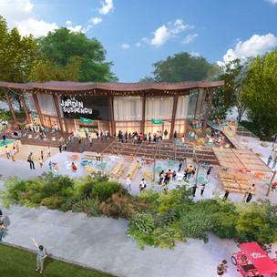 Le Jardin Suspendu s'installe dans le Parc Floral de Paris