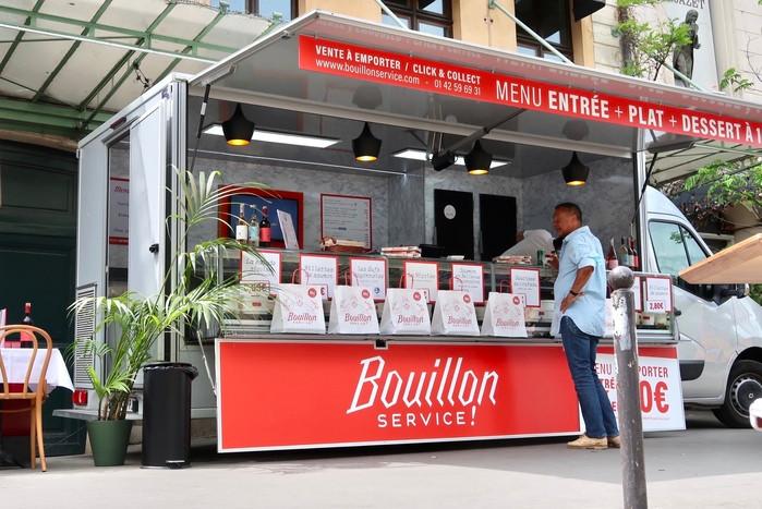 Bouillon service - Bouillon Pigalle Paris