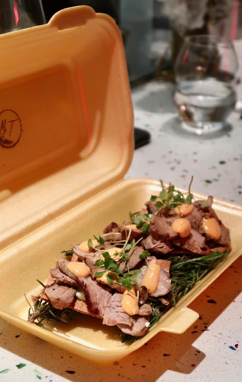 Mr T. Paris restaurant Kebab