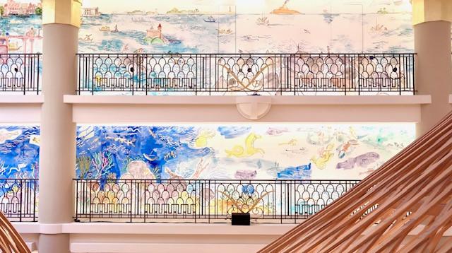 Fresque Hermès Boutique Paris