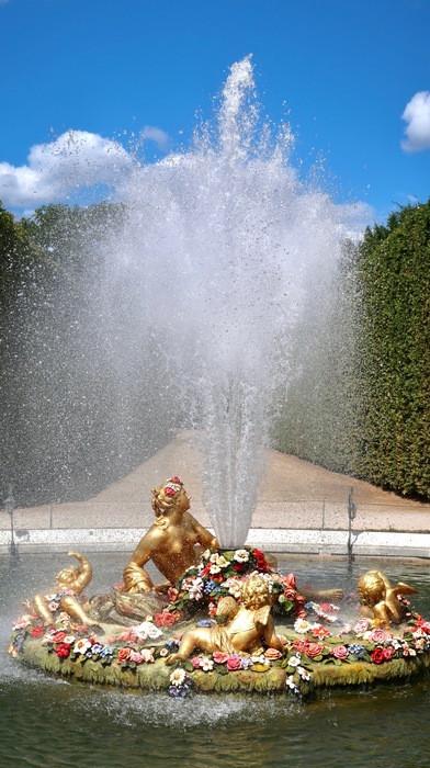 Versailles fontaine jardins musicaux