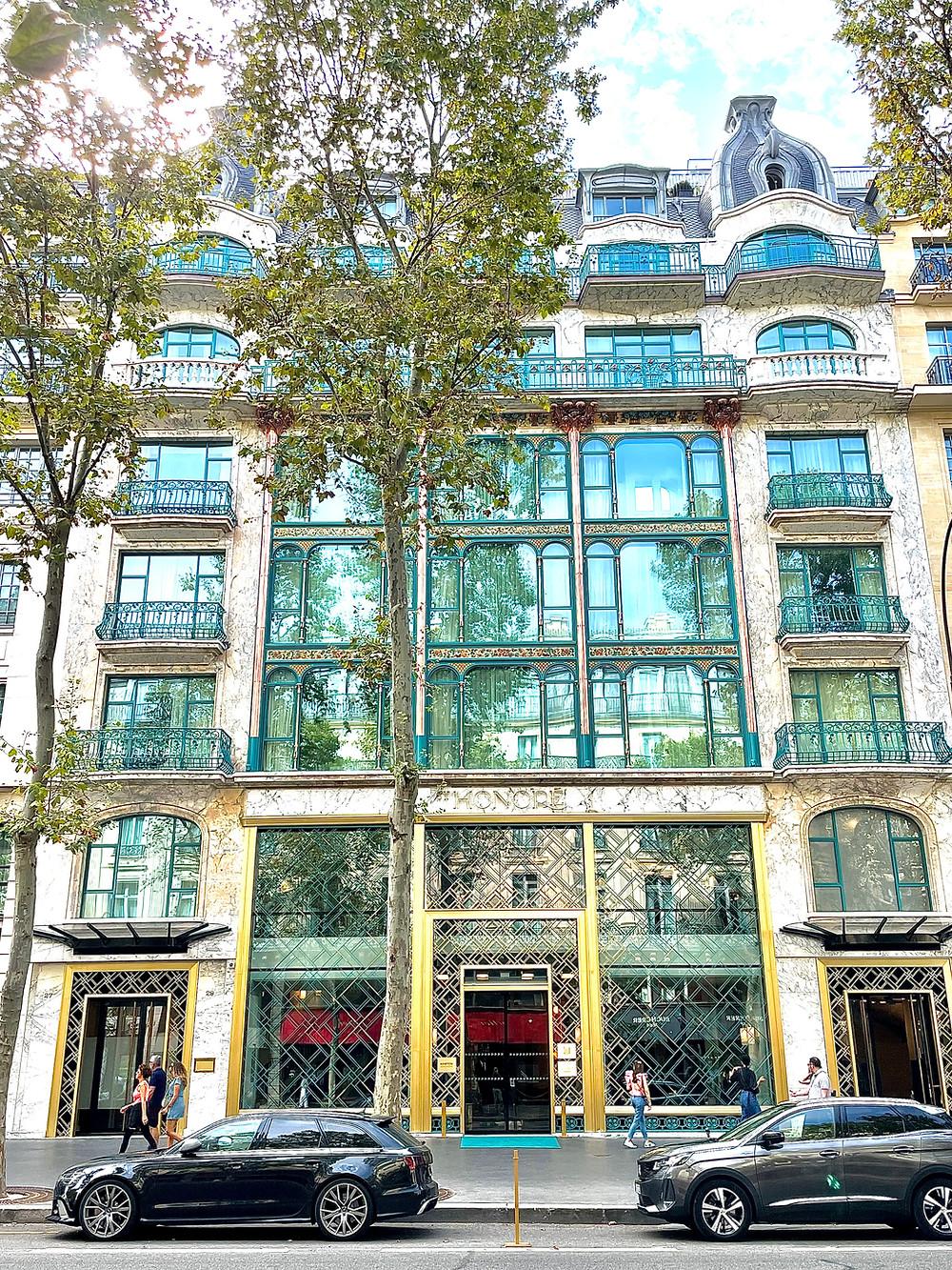 Hotel kimpton saint honore Paris