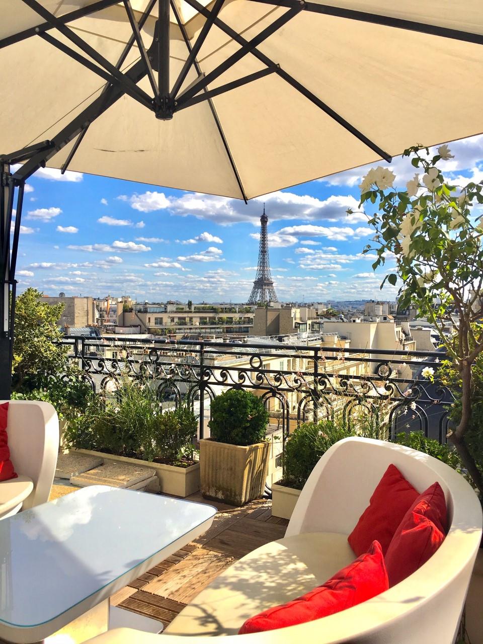 Hotel Raphael Rooftop Paris