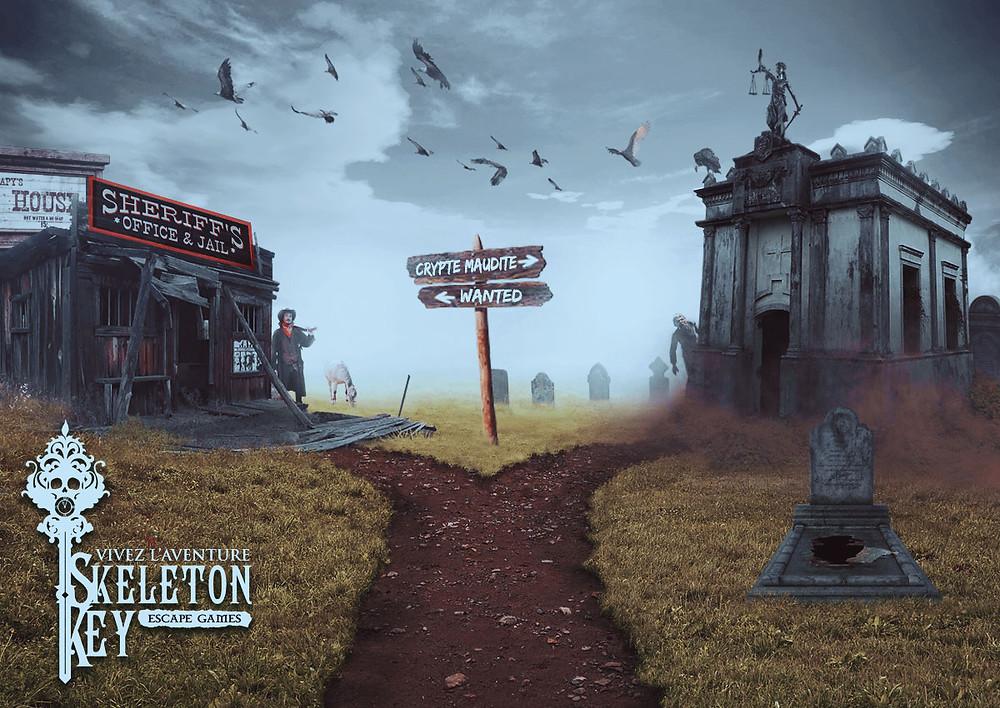 Skeleton key escape Game