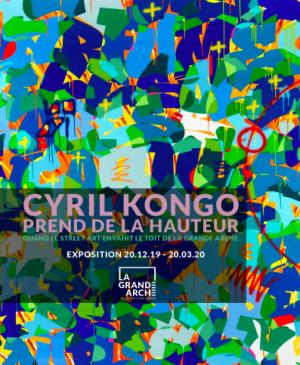 Exposition Cyril Kongo a la grande arche