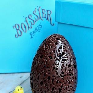 Chocolats de Pâques : la Maison Boissier présente sa collection dentelle