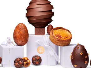 1,2,3 Chocolat ! Le pop up store spécial Pâques de Michael Bartocetti au Four Seasons George V