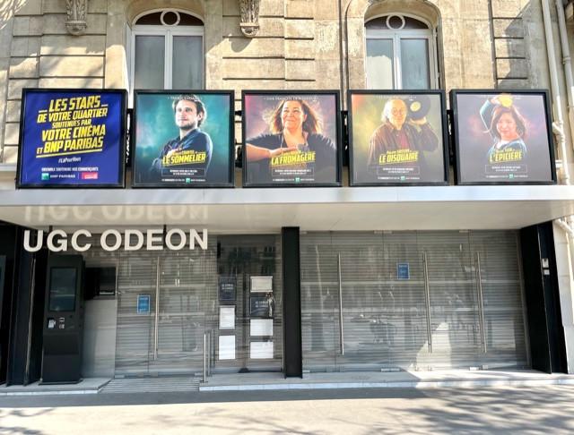 bnp paribas affiche cinemas artisans
