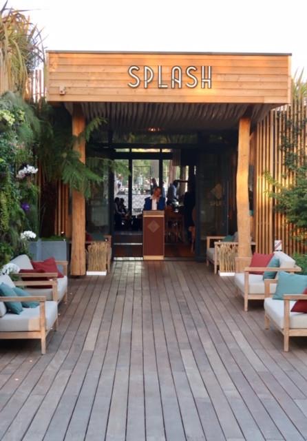 Norbert Tarayre restaurant Splash