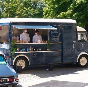 Hôtel de Crillon : le Ice-cream truck de Matthieu Carlin