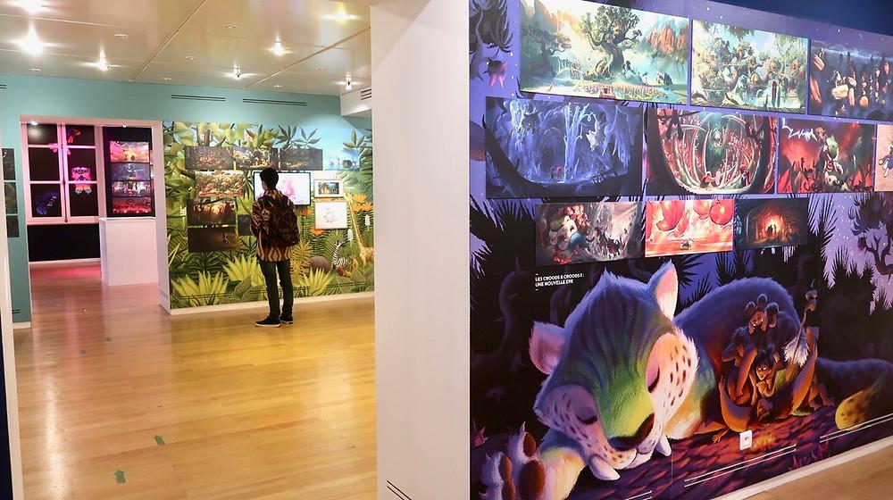 Exposition DreamWorks Paris
