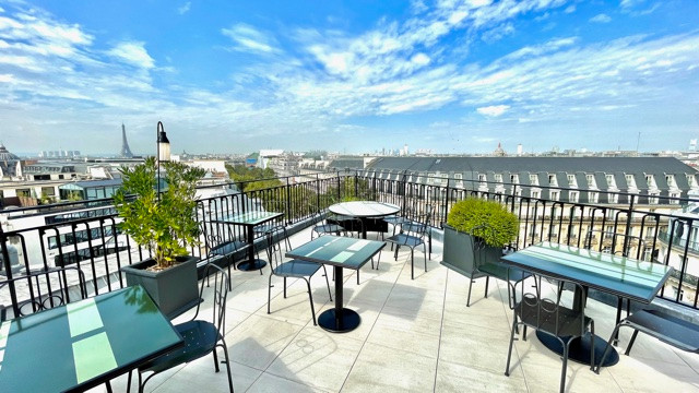 Rooftop kimpton saint honore Paris