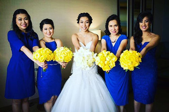 Hair and Makeup for an Asian Bridal Party