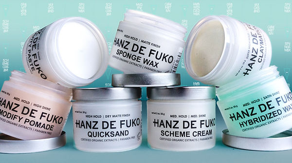 Hanz De Fuko men's best hair product sold at AR hair salon in Hermosa Beach
