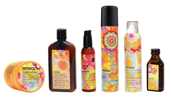 Amika Hair Products sold at AR hair salon in Hermosa Beach
