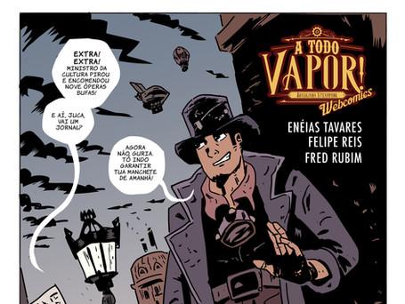 Web Comics A Todo Vapor!