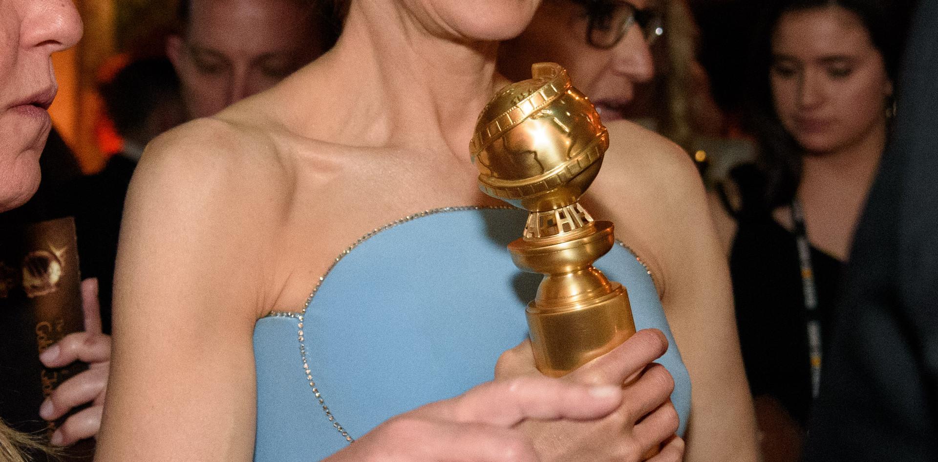 Renee Zellweger na Sala do After Party Media (Festa depois da Entrega dos Golden Globes) do 76th Annual Golden Globes Awards no Beverly Hilton em Beverly Hills, CA. Photographer: HFPA Photographer.