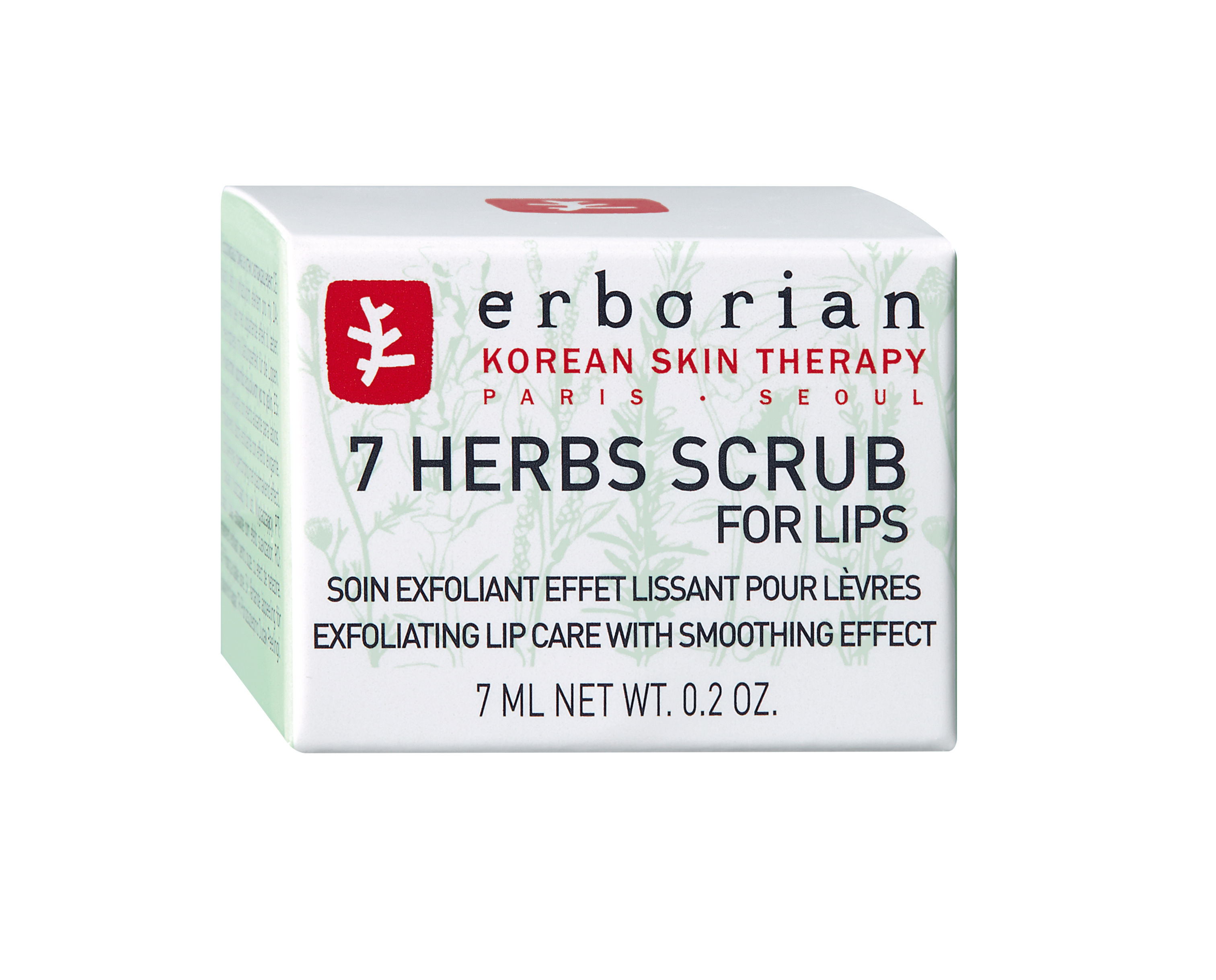 F2_7 HERBS SCRUB FOR LIPS 7ML PACK SECONDAIRE 6AA10214