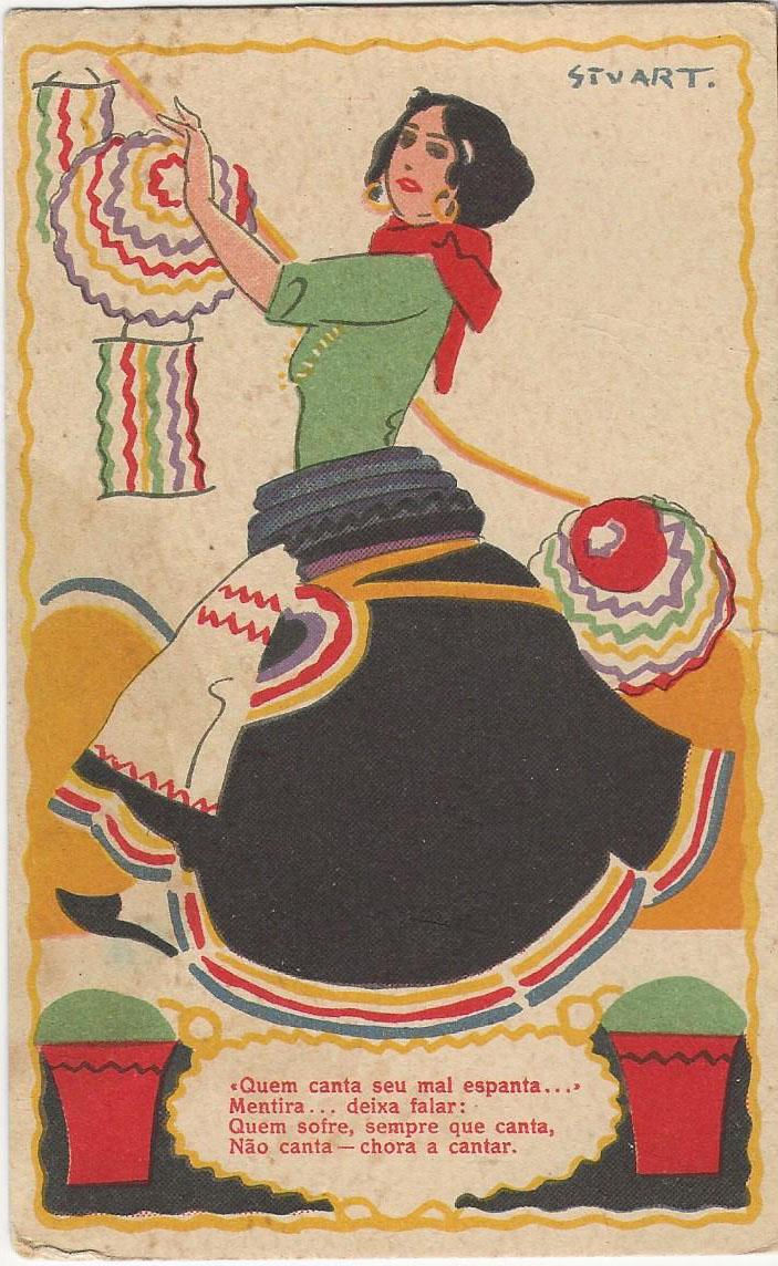 Trajos típicos populares portugueses