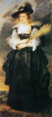 Peter Paul Rubens (1577-1640), retrato de Helena Forment, Flandres, c.1630-1632. Óleo s/madeira, 168x85 cm.