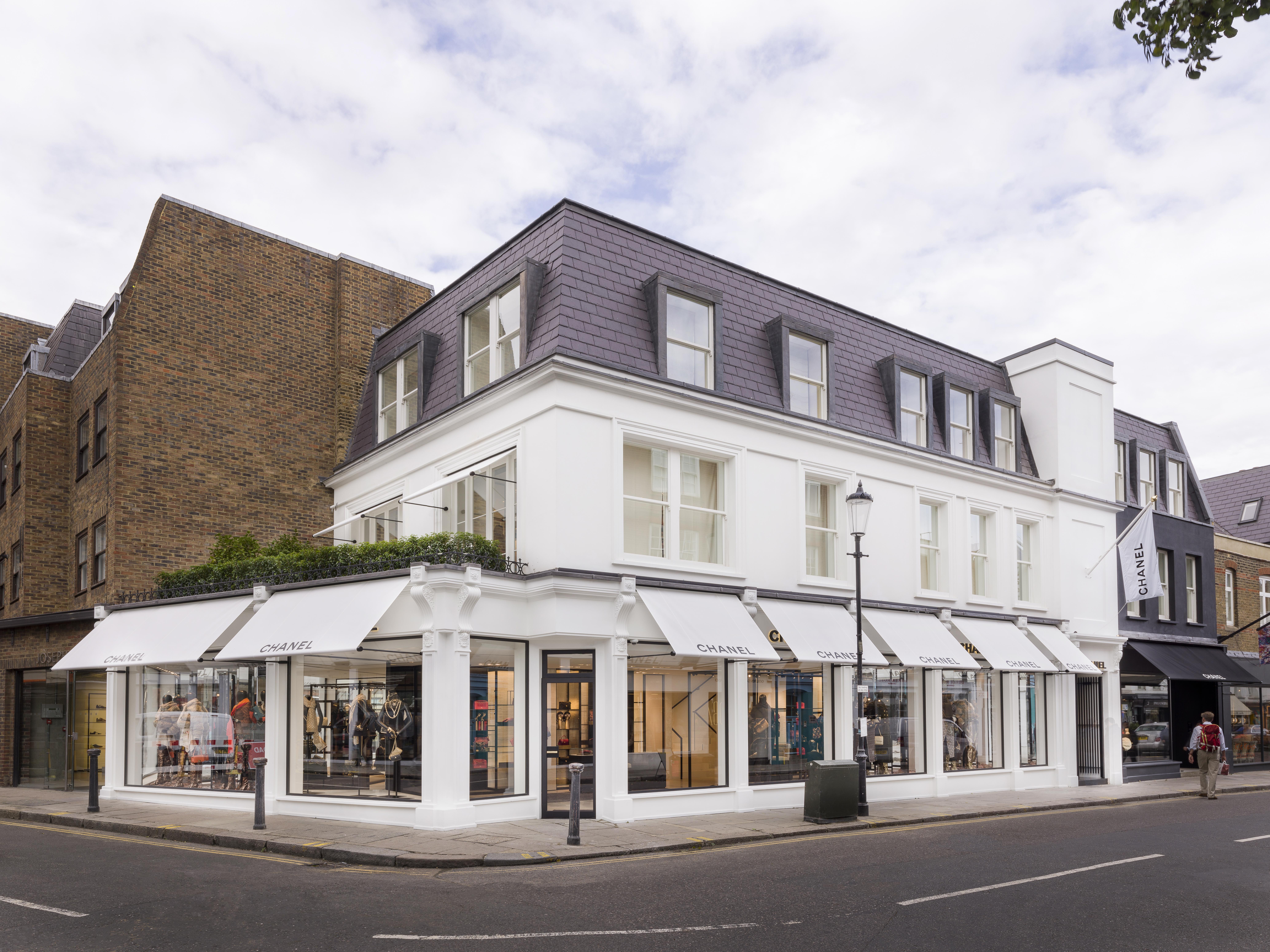 Boutique Chanel em Londres