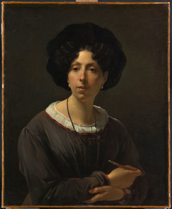 Hortense Haudebourt Lescot - Autoportrai