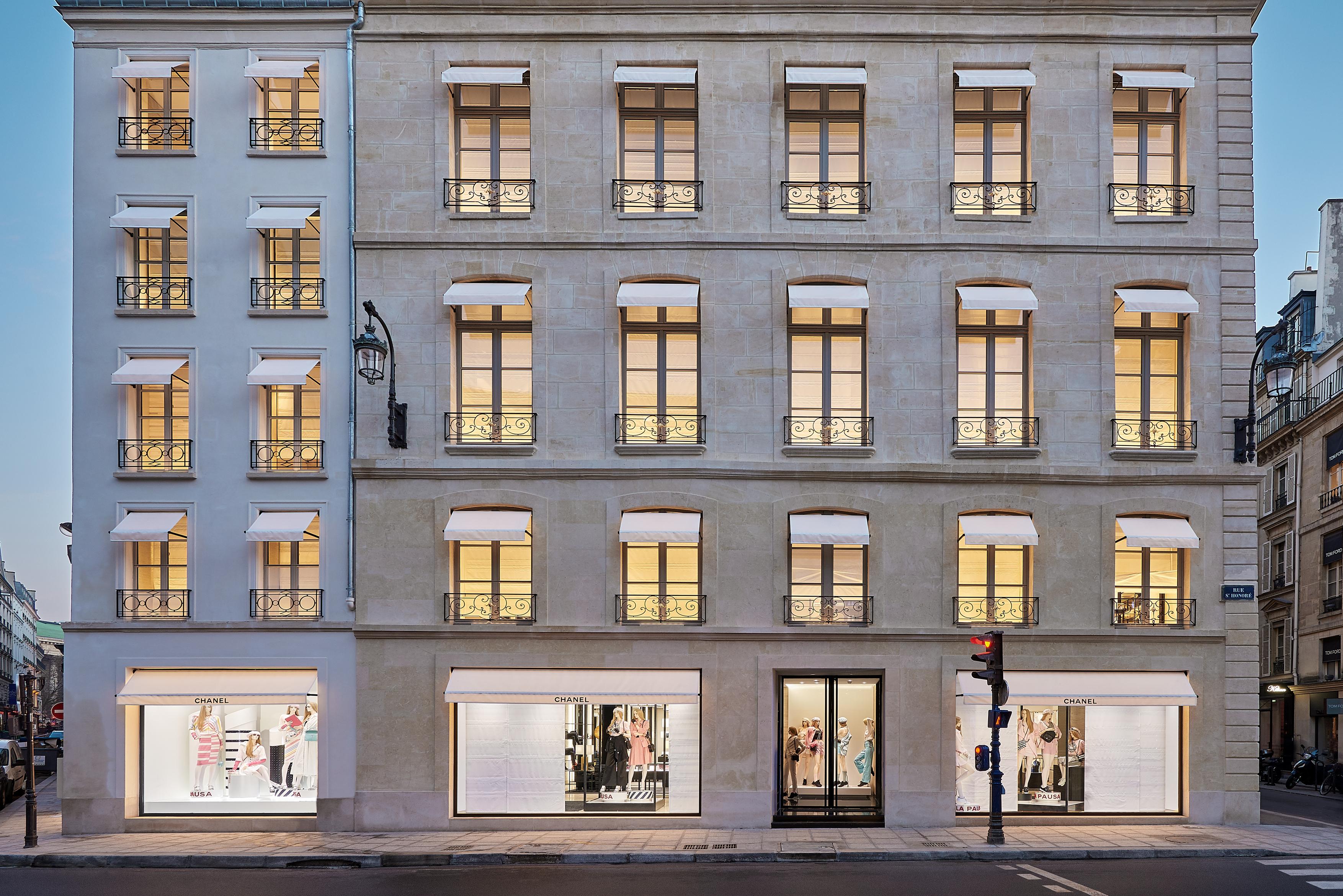 Boutique Chanel em Paris