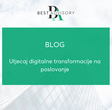 Utjecaj digitalne transformacije na poslovanje