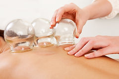 gua sha, cupping, neck pack pain