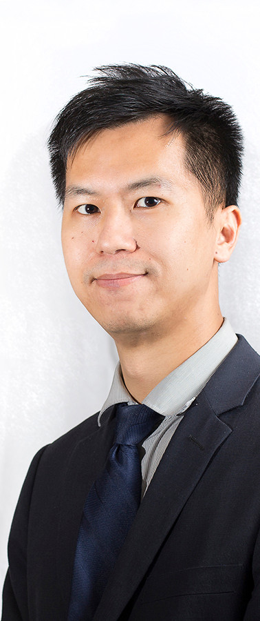 Asian Male Headstot for a corporate website